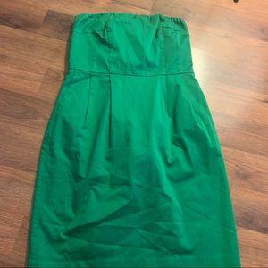 Express dress women's size 8 medium green